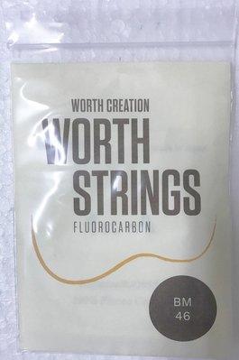【山姆 樂器工作室】 買1送1!! 日本Worth String烏克麗麗咖啡弦 BM 21/23吋