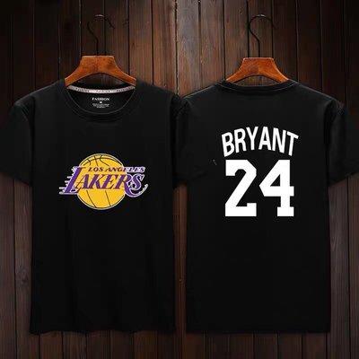 💖黑曼巴Kobe Bryant科比短袖棉T恤上衣💖NBA湖人隊Nike耐克愛迪達運動籃球衣服T-shirt男女991