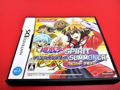 ㊣大和魂電玩㊣任天堂NDS遊戲 遊戲王怪獸對決 GX 魂之召喚者{日版}NDSL 2DS 3DS 主機可玩-編號:L2