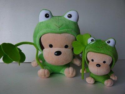 麥物堂珍藏公仔娃娃~全新『可愛小猴蛙~大小型款』*最佳禮物