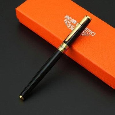 哆啦本鋪 英雄鋼筆學生用鋼筆商務練字鋼筆禮盒裝 書法銥金鋼筆女 D655