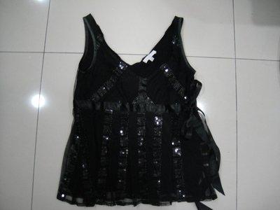 KOOKAI黑色紗背心 0號
