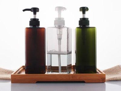 無印良品款 650ml 擠壓瓶 洗手乳.化妝水.沐浴乳分裝瓶.乳液四方瓶.洗髮精 按壓瓶(3款)