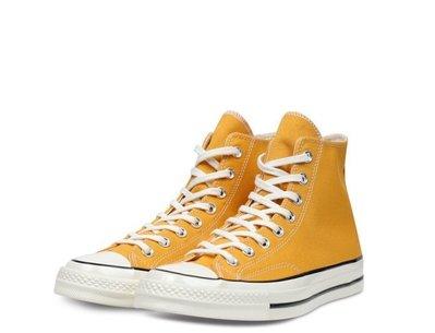 【Footwear Corner 鞋角 】Converse Chuck 70 芥末黃色高筒帆布鞋內黑三星標