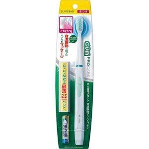 代購現貨 日本 G.U.M 音波震動電動牙刷(乾電池式)GS-03