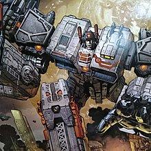 全新未使用 絕版 Hasbro 2013 動漫節限定Transformer Metroplex 变形金剛大力士