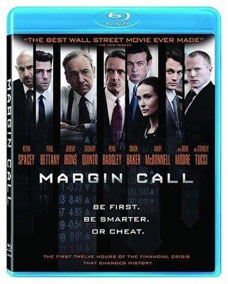 BD 全新美版【黑心交易員的告白】【Margin Call】Blu-ray 藍光