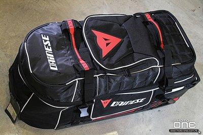 車迷辰 DAINESE D-RIG WHEELED BAG 丹尼斯 旅行箱 拉桿箱 行李包騎士包