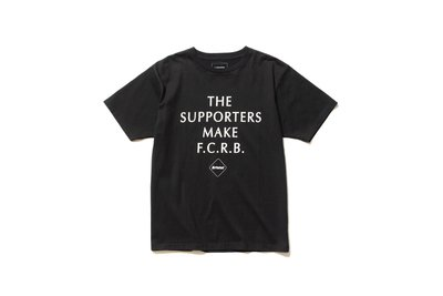 18SS F.C.R.B SUPPORTER SLOGAN TEE 全新正品含運 fcrb