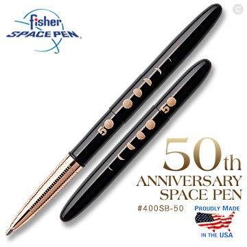 【angel 精品館 】美國 Fisher 50週年紀念款太空筆 400SB-50