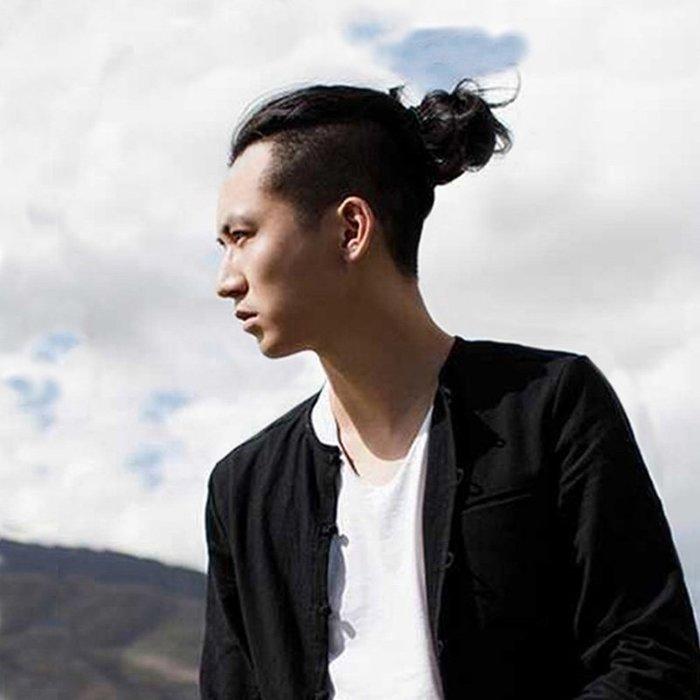 米緹雅假髮☆╯真髮髮圈 男士丸子頭 ☆ 【QQ03】☆╮現貨╭☆♥