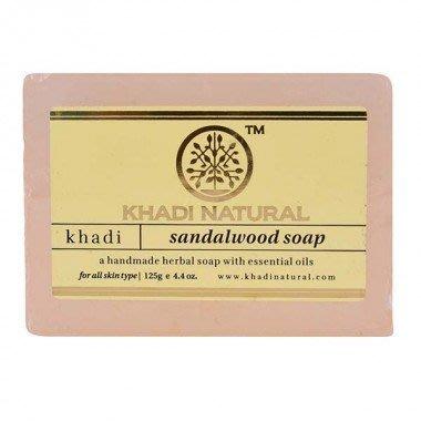[綺異館]印度香皂 檀香 125克 Khadi Sandalwood  / 售medimix 印度線香
