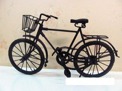 INPHIC-懷舊復古老式鐵皮自行車模...