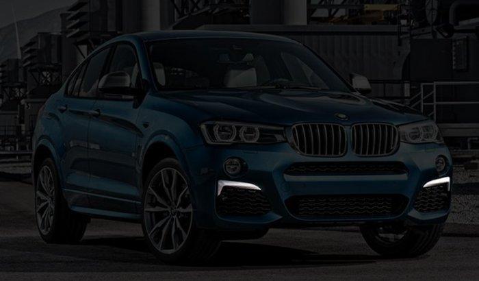 【樂駒】BMW F26 X4 M40i 原廠 加裝 改裝 套件 進氣壩 前進氣壩 銀色 飾板
