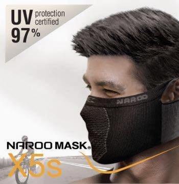 (I LOVE樂多)Naroo Mask 短X5s騎行運動 面罩 單車 哈雷 越野 滑胎 偉士 VESPA Cafe