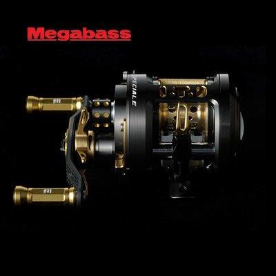 漁具 熱賣 釣魚用品~日本Megabass MONOBLOCK ITO-GAMBLER左右手 限量鼓輪 路亞輪漁輪 木子