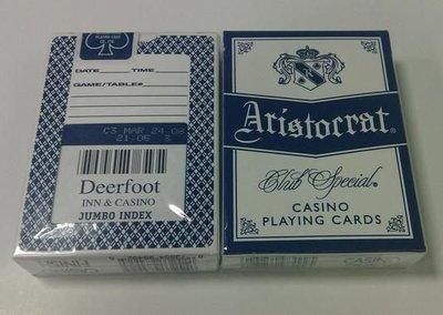 Deerfoot Casino 撲克牌 6(藍色)