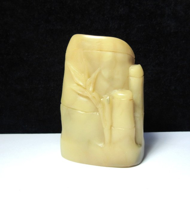 出賣家藏--精品芙蓉石大隨形章