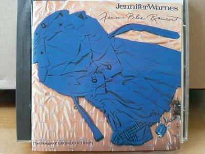 Jennifer Warnes ~ Famous Blue Raincoat 等3張專輯CD。