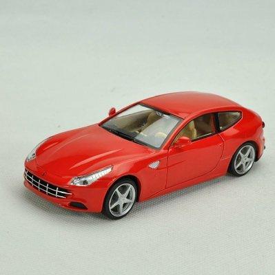 ╭。BoBo媽咪。╮彩珀汽車模型 1:32 法拉利 Ferrari FF 聲光回力車-現貨紅 台北市