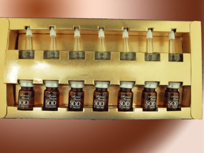 SOD修護精華液 5MLX7瓶 美德生潔顏慕斯150m嘉義皮膚科專科郭醫師推薦