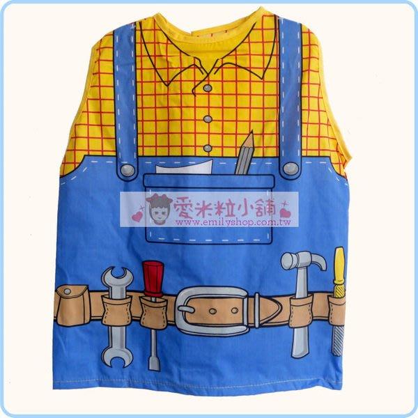 兒童遊戲職業服裝角色服 兒童工程師服 巴布造型背心 角色扮演 萬聖節 表演裝扮 ☆愛米粒☆