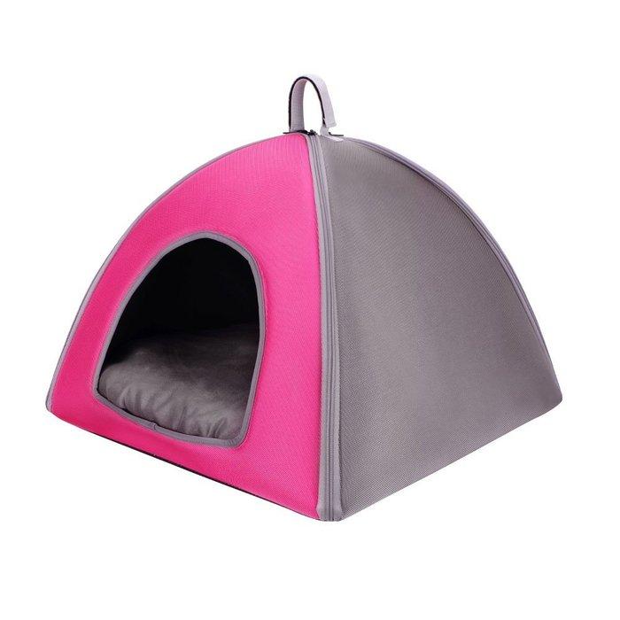 『IBIYAYA』 FB1206-PG 加大版寵物三角窩----粉色
