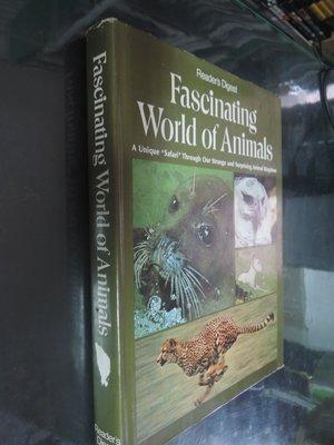 典藏乾坤&書---自然科學---fascinating world of animals    H