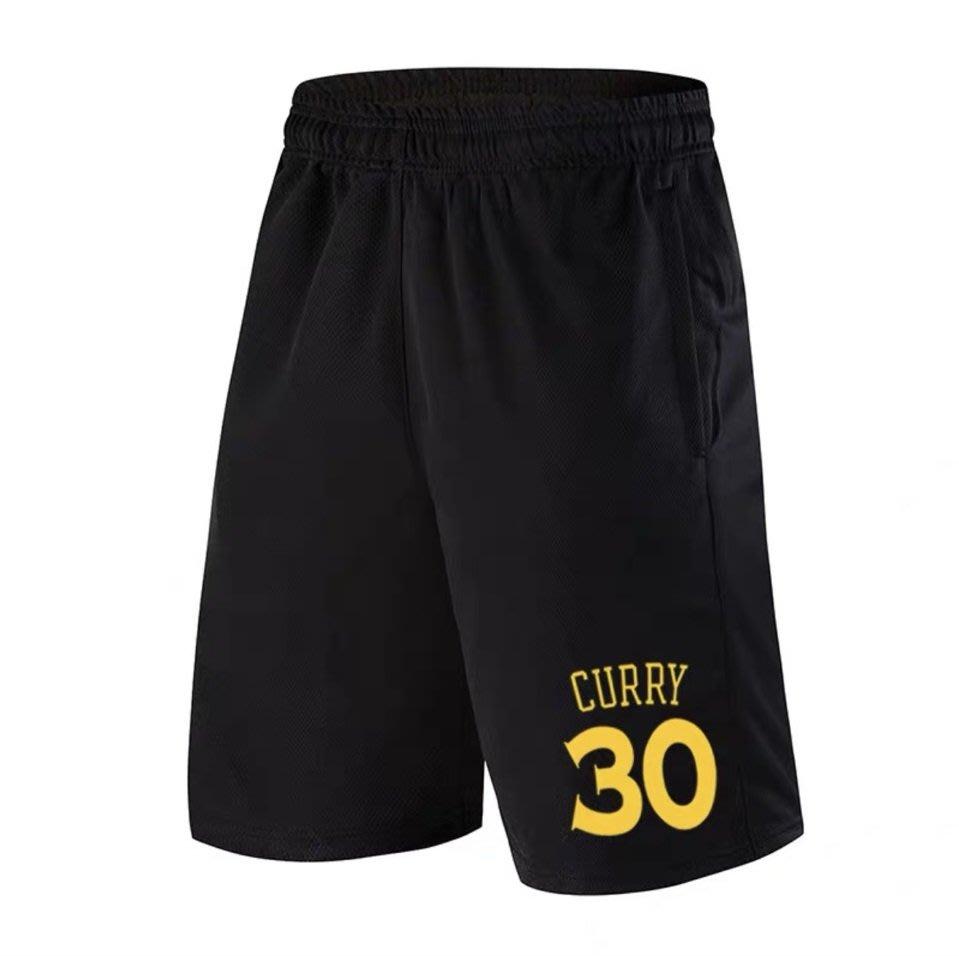 🔥柯瑞Stephen Curry庫里運動籃球短褲🔥NBA球衣勇士隊Nike耐克愛迪達健身訓練慢跑五分純棉褲子男896