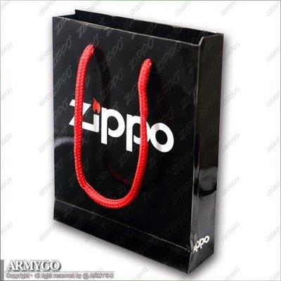 【ARMYGO】ZIPPO原廠手提紙袋