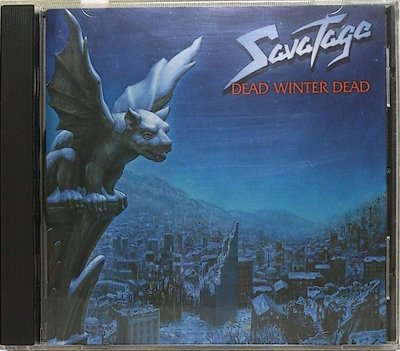Savatage - Dead Winter Dead 二手日版