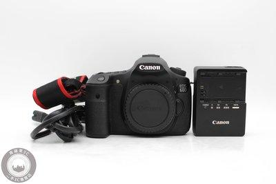 【高雄青蘋果3C】Canon EOS 60D 單機身 APS-C 快門數:15409 二手單眼相機 #48305