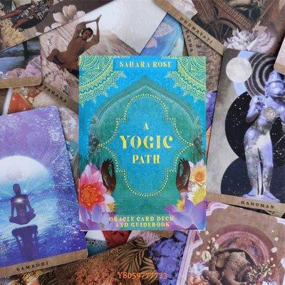 დAshion-贈中文翻譯 A Yogic Path Oracle Card 瑜伽之路神諭卡英文占卜卡