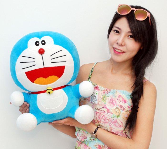 超大哆啦A夢玩偶~正版授權~多啦A夢~高40公分~小叮噹娃娃~熱賣商品