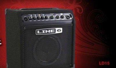 絕地音樂樂器中心 Line 6 Low Down 15 Bass Amp 15瓦貝司音箱 line6