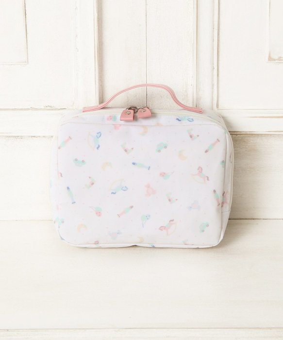 Ariel Wish-日本Afternoon Tea限量旋轉木馬手提包防潑水尿布包尿布袋媽媽包尿布紙巾收納袋附除臭髒污袋