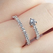 【雙圈鑽石戒指】