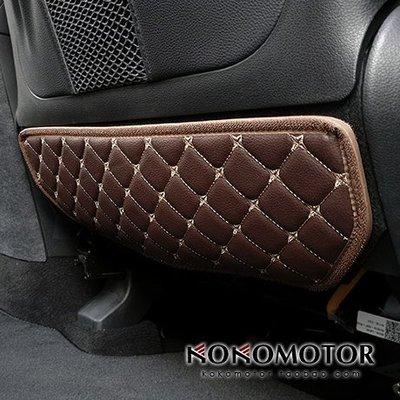 【MOMO精品】Hyundai現代新 Santa Fe Hyundai現代KONA Elantra PALISADE雅尊專用座椅防踢墊 韓國進口汽車內飾改裝飾品