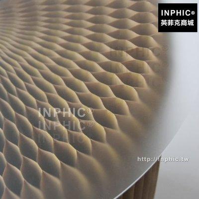 INPHIC-圓形壓克力板磨砂墊子透明板展示台板_A16R