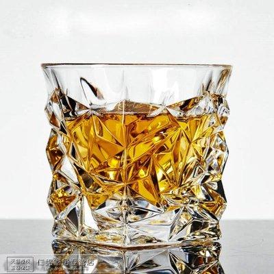 水晶玻璃威士忌杯洋酒杯白酒烈酒杯啤酒雞尾酒方杯家用耐熱水杯子yi   全館免運