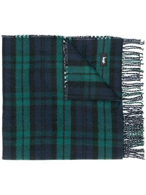 Stussy Double Faced Check Scarf 雙面格紋圍巾,二手 138563