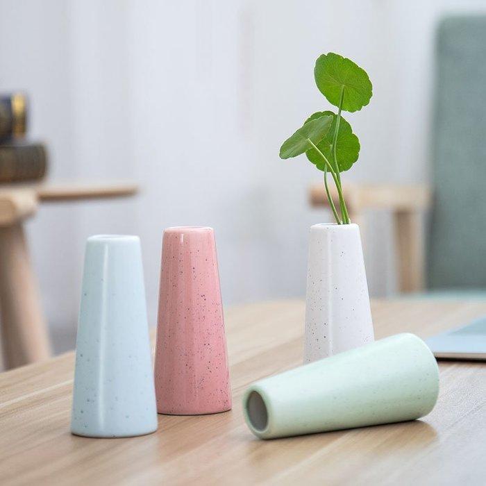 爆款創意簡約可愛小清新花瓶迷你客廳桌面水培綠蘿插花裝飾品陶瓷擺件#簡約#陶瓷#小清新