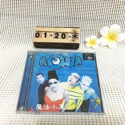 【二手 CD 限時 限量】Aqua 水叮噹合唱團 - Aquarium 專輯 1997 年發行【魔法小屋】
