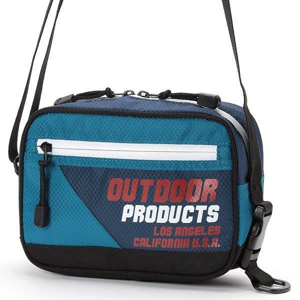 【Mr.Japan】日本限定 OUTDOOR 肩背 側背包 logo 熱賣 撞色 潮流 外出包 小包 藍 預購款