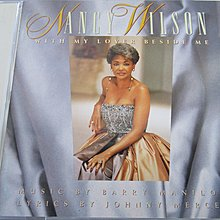 Nancy Wilson - With My Lover Beside Me 日版   Barry Manilow