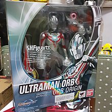 超人 ultraman orb origin 歐布 shf  上海限定版