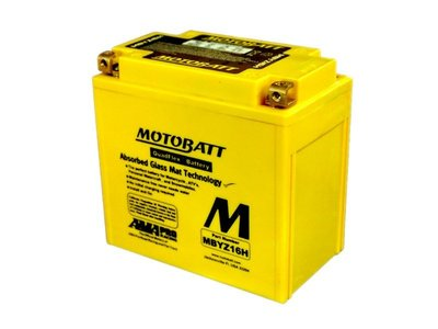 《達克冷光》MOTOBATT MBYZ16H AGM強效電池