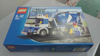 全新 Lego City 7990 Cement Mixer