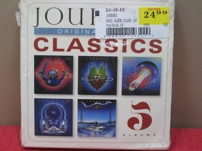 正版全新CD~《旅行者合唱團》 經典專輯全集(5CD)/Journey Original Album Classics(