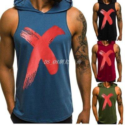 DS_08網紅時尚Vest Men Body Slimming Tummy Shaper Vest Belly Waist T Shirt